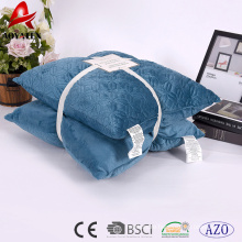 Wholesale custom micromink fashion decorative embroidered sofa cushion