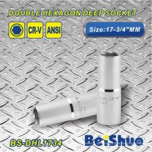 Doppelte Sechskant-Steckdose - BS-DHL1734
