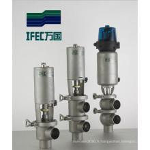 Vanne de coupe sanitaire en acier inoxydable (IFEC-PR100002)