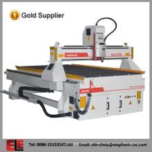 Barato y de buena calidad cnc máquina de fabricación de paletas de madera para aluminio, madera, acrílico, pvc, mdf