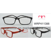 Optical Frame for Kids with Rubber Finish and Rubber Temple Fashionable (WRP411388)