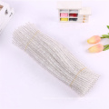 Factory sale educational toy 30cm Glitter Chenille Stem tinsel craft Pipe Cleaners for art