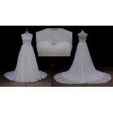 Блестки Шифон Свадебные Платья 2016
