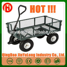 Remorques de wagon en acier jardin maille outil chariot wagon de jardin TC1859
