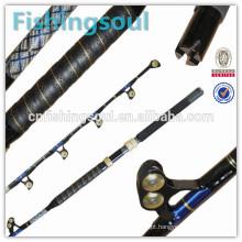 GMR007 levantar vara de pesca de fibra de vidro vara de pesca