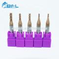 Угловые концевые фрезы BFL Carbide 4 с канавками