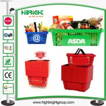 Cheap Double Handle Shopping Basket