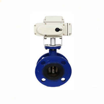 24v 220v dn250 fonte 10 pouces vanne de papillon électrique de bride d'actionneur pour le ciment