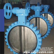 Full Lug Wafer Gear Box High Performance Butterfly Valve