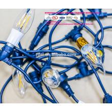 SLT-127 UL approbation IP44 imperméable à l'eau de l'Amérique fiche cordon cordon d'alimentation lumières étanches