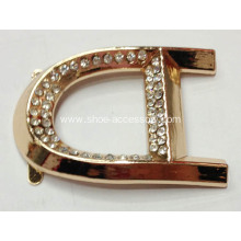 Versatile Alloy Rhinestone Buckle for Shoes,Bags,Garments