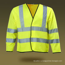 EN ISO 20471 / EN 471 защитный жилет с длинным рукавом
