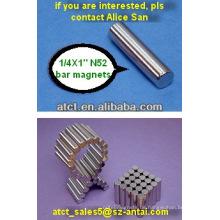 Bar-Magnet 6.35X25.4mm nutzt der Stabmagneten