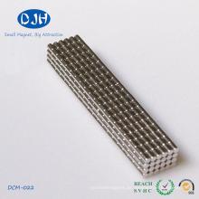 Durchmesser 2 * Dicke 3mm Neodym Magnete Disc geformt leistungsstark
