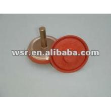 válvula de asiento válvula de goma a moldeado de metal