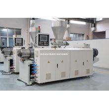 Machine de profil de goulotte de PVC / ligne d'extrusion