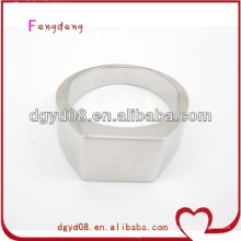 Cheap simple stainless steel ring blanks wholesale