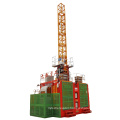 SC series construction building man and cargo lift