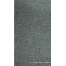Tissu de polyester de sergé cationique avec le revêtement de PVC