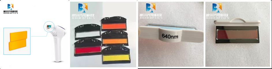 430nm - 640nm IR Long Pass Optical Opt IPL Filters Beauty Machine