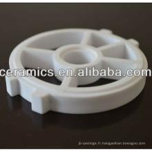 Vannes en céramique d'alumine résistantes à l'usure