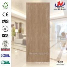 JHK-F01 Grande qualité Grande quantité 4mm Straight Texture Malaisie MDF EV OAK Souffleur de peau de porte