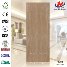 JHK-F01 Top Quality Large Quantity 4mm Straight Texture Malaysia MDF EV OAK Door Skin Suppiler