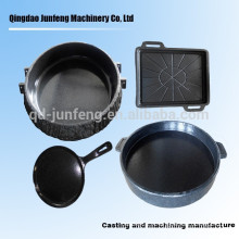 Customized cast iron enamel pot
