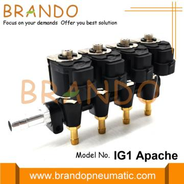 OMB Type IG1 APACHE Rail Injector 4Cyl 3Ohms