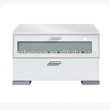 Modern White Storage Cabinet MDF Wooden for Home