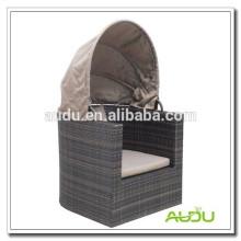 Audu Rattan Outdoor Round Bed On Sale