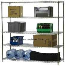 NSF Heavy Duty Chrome Steel Warehouse Storage Stacking Rack