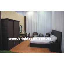 Rattan Wicker Bedroom Furniture Set