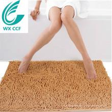 Artículos de decoración 100% poliéster lavable alfombras de baño