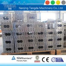Doppelschneckenzylinder für Kunststoff-Extrudermaschine