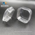 spherical glass lens storage box with elastic membrane