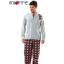Miorre Hombres pijama% 100 pijama de algodón Set