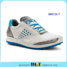 Zapatos calientes del golf de la manera de los hombres de la venta