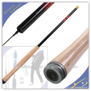 La barra de pesca de la fibra de vidrio TER001 blanquea el producto de pesca chino más caliente del tenkara de la barra de alta calidad del producto chino