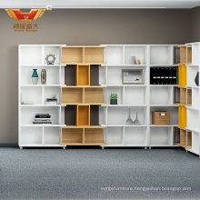 New Design Special Natural Colorful Office Furniture Storage Cabinet (H85-0668)