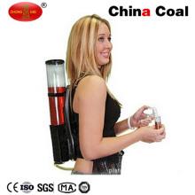 Двойной рюкзак бар пить вино Диспенсер со льдом трубы охлаждения
