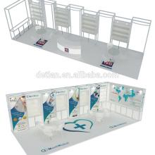 Detian offre stand commerce équitable avec la conception de l'exposition 3d pour la publicité d'exposition de bijoux
