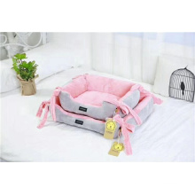 Plush Pet Bed dog Nest dogs cushion bed