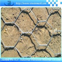 Malla de alambre de Gabion galvanizada en caliente DIP