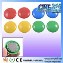 Runde farbige Magnete Schöne farbige Magnete Runde