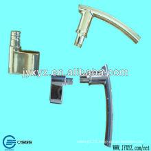 zinc alloy casting plating wireless door lock