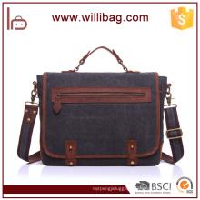 High Quality Vintage Custom Canvas Messenger Bag