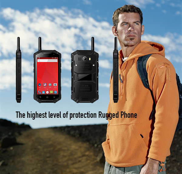 The highest level of protection Rugged Phone