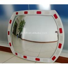 Plastic outdoor round reflective traffic convex mirror