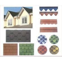 Bardeau de toit d'asphalte bon marché / tuile de toit auto-adhésive avec le certificat d'OIN